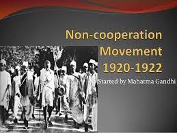 Non cooperation movement