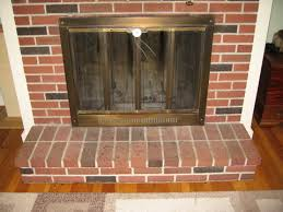 baby proofing a raised brick hearth