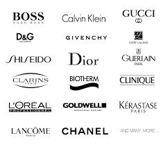 cosmetic makeup brand logo