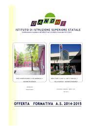 Calaméo - Offerta formativa IIS