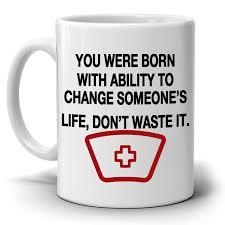inspirational doctors and nurse gifts quotes coffee mug printed