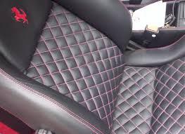 car interior leather re trim