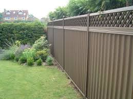 metal garden fencing style all home