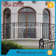 Yishujia Factory Prefab Wrought Iron Round Stair Railings Veranda Fences Design Buy Design Modern Stair Railing Veranda Fences Design Wall Fence Designs Product On Alibaba Com