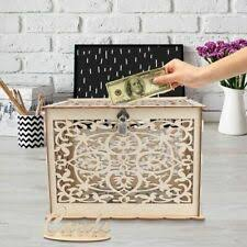 wedding party gift card box money gift