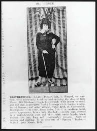 Photograph and article on Ida Pender, from The Rise and Fall of ...