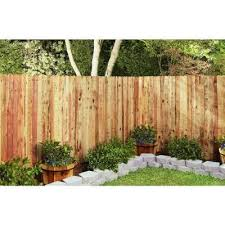 Mendocino Forest Products 3 4 In X 5 1 2 In X 6 Ft Fsc Construction Common Redwood Dog Ear Fence Picket 05353 The Home Depot In 2020 Dog Ear Fence Fence Pickets Gutter Garden