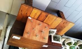 reclaimed oregon pine coffee table