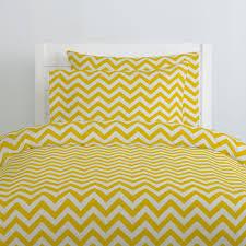 yellow zig zag duvet cover carousel