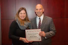 Smith Named Walton College Employee of the Quarter | University of Arkansas