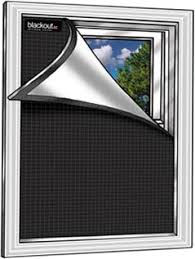 Blackout Ez Window Covers 100 Total Window Black Out For Night Shifters Home Theaters Napping Kids Rvs And More