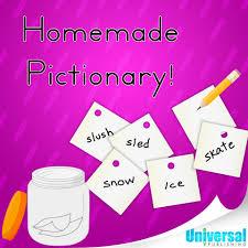 homemade pictionary universal