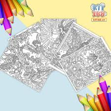 Mô hình giấy Tranh tô màu Câu chuyện thần tiên TTM-0001 - Kit168.vn Shop  Online mô hình giấy