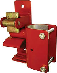 Amazon Com Special Speeco Products S16100500 1 Way Lockable Gate Latch Red Home Improvement