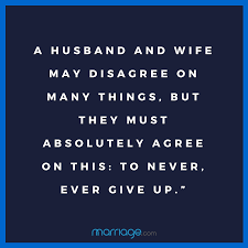quotes a husband and wife disagree on many things