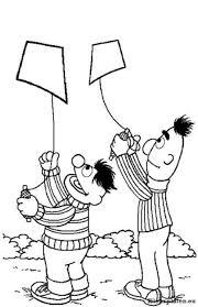 Sesamstraat Bert En Ernie Kleurplaten Kleurplaten Eu