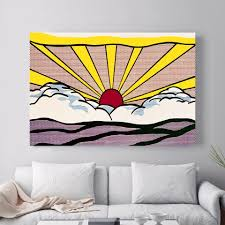 Landscape Sunrise Pop Art Canvas Art Print Painting Poster Wall Pictures For Kids Room Home Decoration Wall Decor No Frame Wall Pictures Pictures For Kidspictures For Kids Room Aliexpress