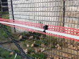 Paintball Barrier Netting For Safety Protection In Chronograph Areas And Target Ranges