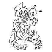 Kleurplaat Pokemon 2933