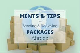 sending and receiving packages hints
