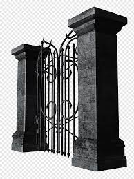 Gate Fence Gothic Iron Gate Building Iron Man Iron Png Pngwing
