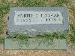Myrtle Graham Erisman (1888-1928) - Find A Grave Memorial
