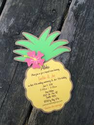 Pineapple Invitation Con Imagenes Invitaciones De Moana