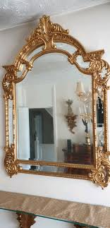 antique baroque mirror in oxford