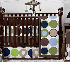 dot modern crib bedding collection