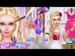 fashion doll ping day spa videos