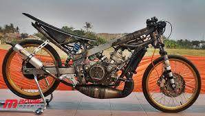 modifikasi ninja 150 tu drag bike