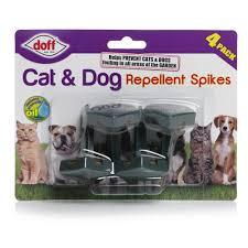 Doff Cat Dog Repellent Spikes 4pk Wilko