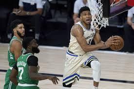 Bucks top Celtics as Giannis Antetokounmpo avoids foul-out
