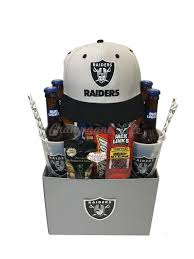 nfl las vegas raiders gift basket