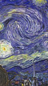 starry night tardis vincent van gogh