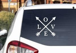 Love Decal Love Car Decal Love Wall Decal Love Laptop Etsy