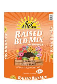 soil mender raised bed mix soil