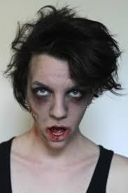 diy not very y zombie makeup