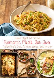 romantic meals for two at home