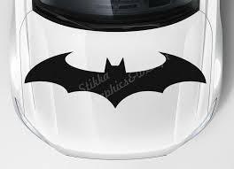 Car Hood Sticker Window Vinyl Graphics Batman Emblem Decal Dark Knight Symbol Ebay