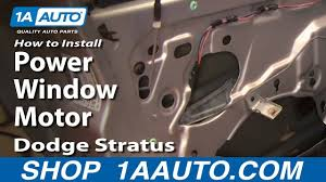 power window motor 01 06 dodge stratus