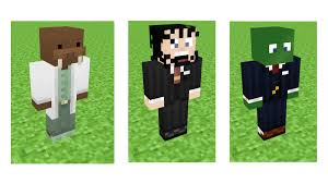 lads' old Minecraft skins! Thoughts ...