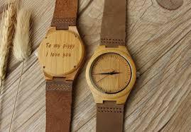 wooden watch for boyfriend gift