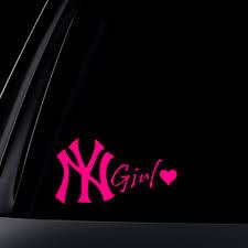 New York Girl Car Decal Sticker