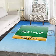 com going away party rugs for