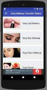 easy makeup tutorials video for android