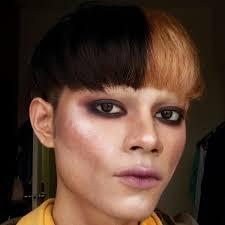 androgynous makeup ricedolls