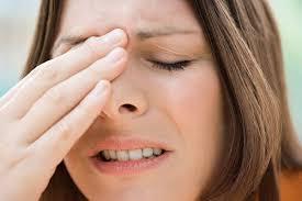 Kết quả hình ảnh cho đau đầu do lệch vách ngăn mũi