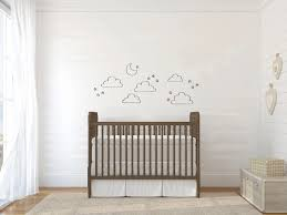 Diy Tiny Clouds And Stars Art Mural Vinyl Wall Decal Decorative Childrens Room Nursery Decor Wallpapers Aliexpress