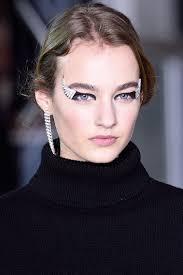 fall runway beauty report modeliste